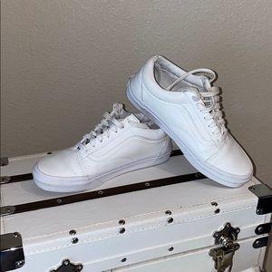 Vans Classic Old Skool leather skate shoe